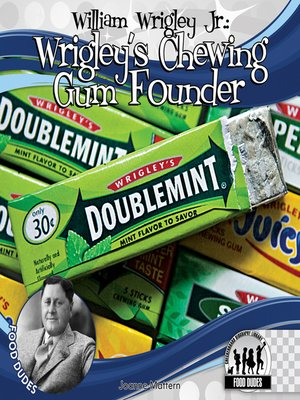 cover image of William Wrigley Jr.