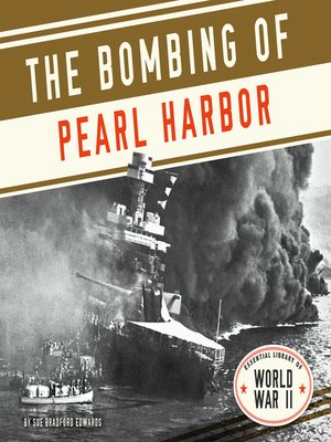 cover image of Bombing of Pearl Harbor