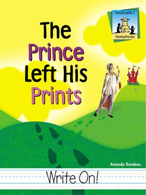 cover image of Prince Left His Prints