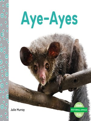 cover image of Aye-Ayes