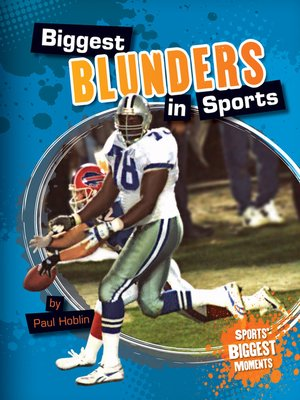 cover image of Biggest Blunders in Sports