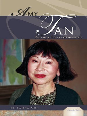 cover image of Amy Tan