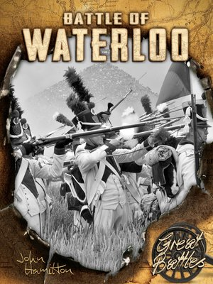 cover image of Battle of Waterloo