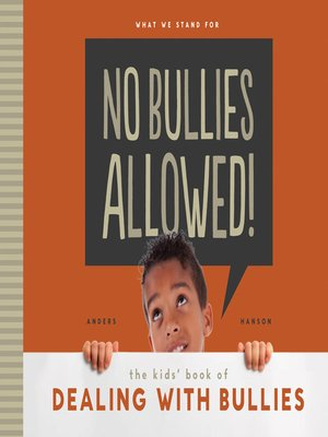 cover image of No Bullies Allowed