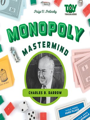 cover image of Monopoly Mastermind: Charles B. Darrow