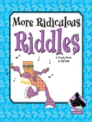 cover image of More Ridiculous Riddles