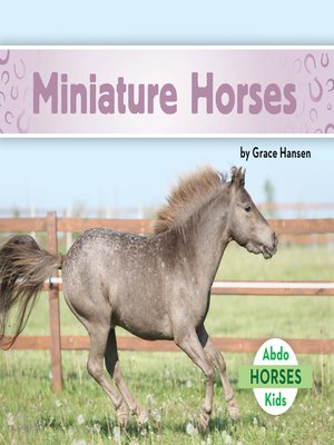 cover image of Miniature Horses