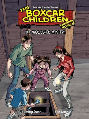 cover image of The Woodshed Mystery