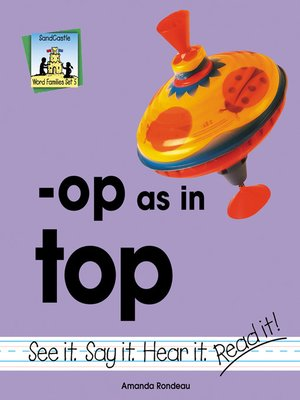 cover image of op as in top