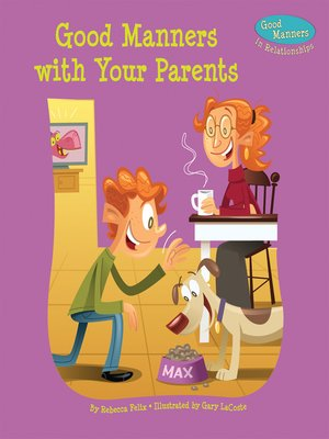 cover image of Good Manners with Your Parents