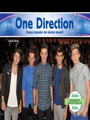 cover image of One Direction: Grupo popular de música juvenil (One Direction: Popular Boy Band)