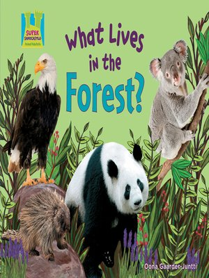 cover image of What Lives in the Forest?