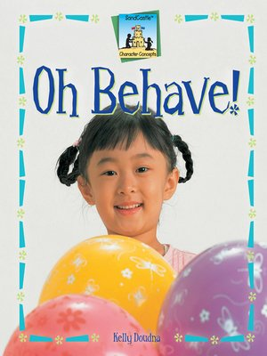 cover image of Oh Behave