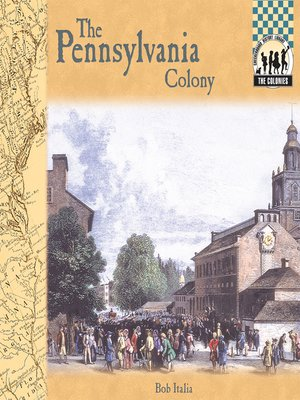 cover image of Pennsylvania Colony