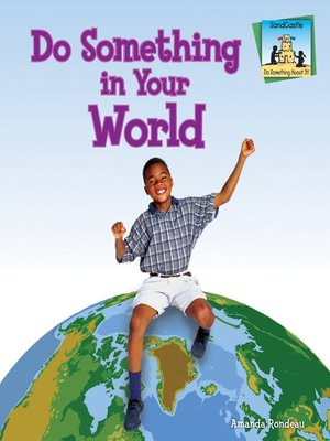 cover image of Do Something in Your World