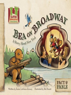 cover image of Bea on Broadway