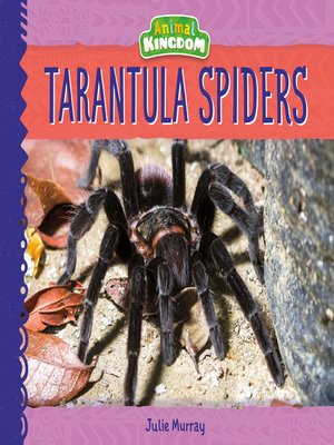 cover image of Tarantula Spiders