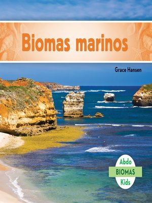 cover image of Biomas marinos (Marine Biome)