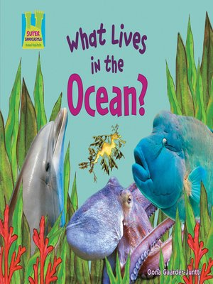cover image of What Lives in the Ocean?