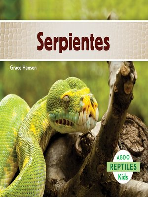 cover image of Serpientes