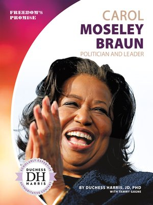 cover image of Carol Moseley Braun