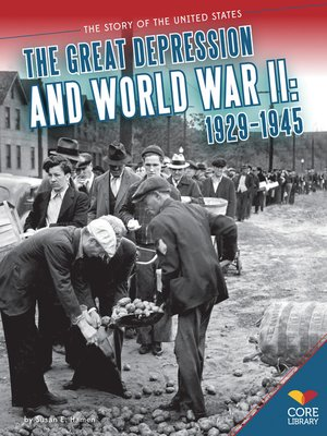cover image of Great Depression and World War II