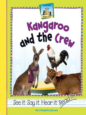cover image of Kangaroo and the Crew