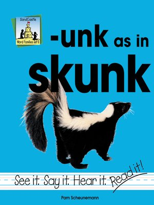 cover image of unk as in skunk