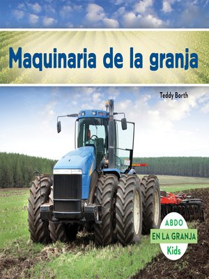 cover image of Maquinaria de la granja
