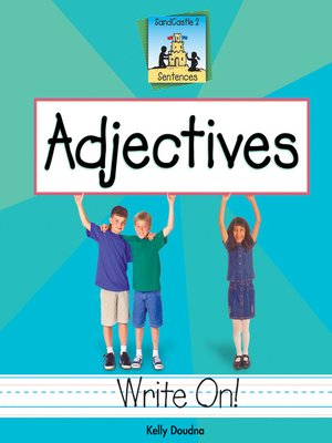 cover image of Adjectives