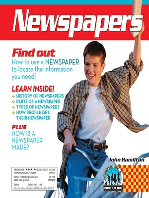 cover image of Newspapers