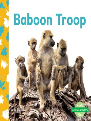 cover image of Baboon Troop