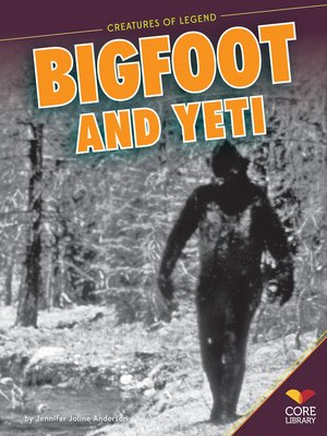 cover image of Bigfoot and Yeti