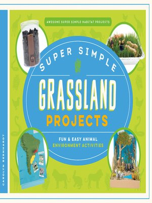 cover image of Super Simple Grassland Projects: Fun & Easy Animal Environment Activities