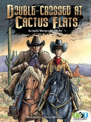 cover image of Double-crossed at Cactus Flats