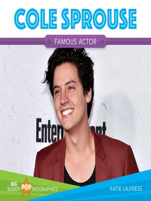 cover image of Cole Sprouse