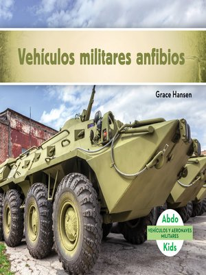 cover image of Vehículos militares anfibios (Military Amphibious Vehicles)