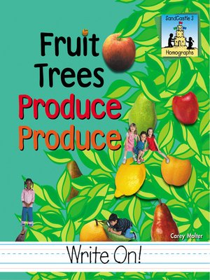 cover image of Fruit Trees Produce Produce