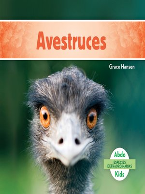 cover image of Avestruces (Ostriches )