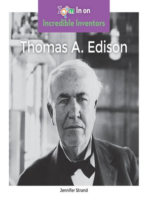 cover image of Thomas A. Edison