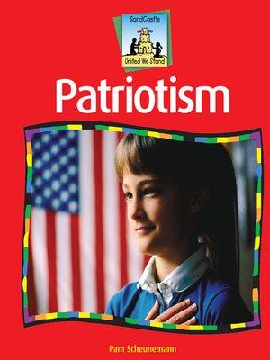 cover image of Patriotism