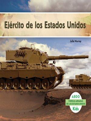 cover image of Ejército de los Estados Unidos