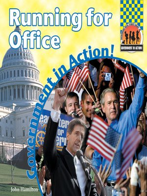 cover image of Running for Office