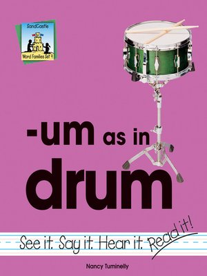 cover image of um as in drum