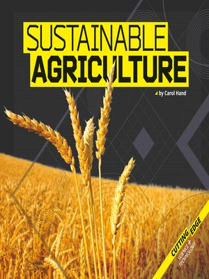 cover image of Sustainable Agriculture