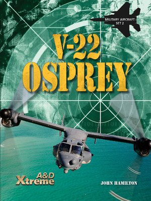 cover image of V-22 Osprey