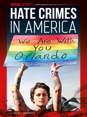cover image of Hate Crimes in America