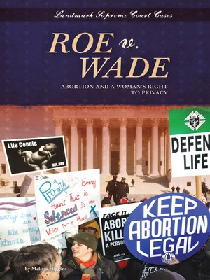 cover image of Roe v. Wade