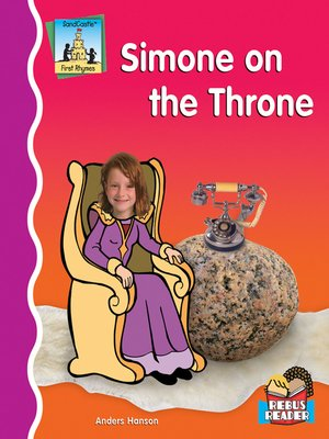 cover image of Simone on the Throne