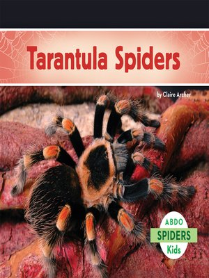 cover image of Tarantula Spiders